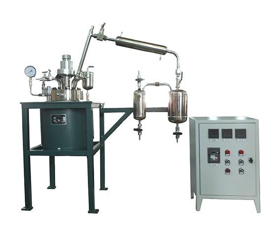 减压蒸馏反应釜装置