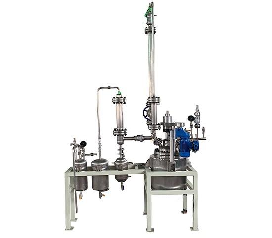 酯化缩聚反应釜装置